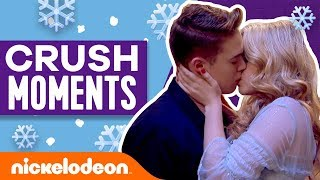 Best Kiss Moments 💘 Winter Crushes | Nick