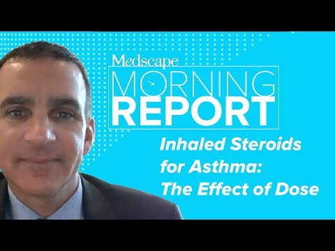 Inhaled Steroids For Asthma: The Effect Of Dose | Morning Report
