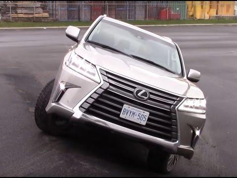 2016 Lexus LX570 - Essai complet, 0-100km/h, intérieur, extérieur et tests!