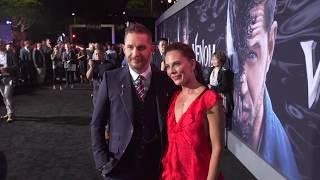 Venom: Red Carpet Movie Premiere Arrivals & Fashion - Tom Hardy