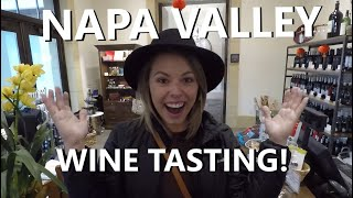 Napa Valley Wine Tasting! Castello di Amorosa, Brannon Cottage Inn, Chateau Montelena, Stirling ...