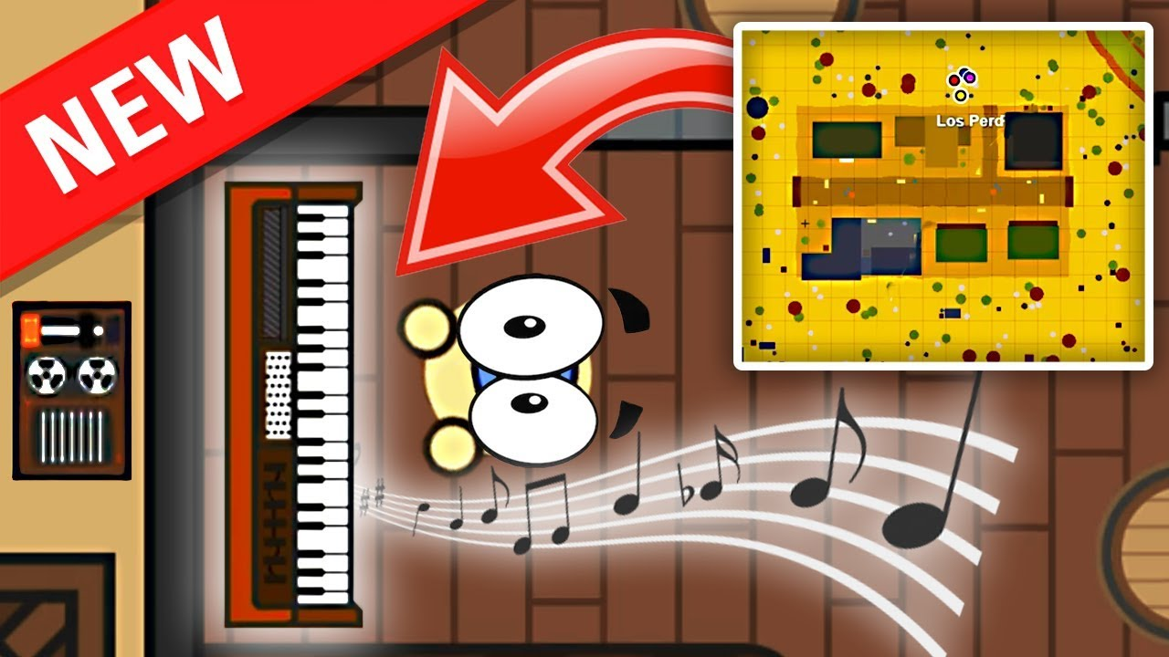 *EPIC* What's Inside the Piano? // Surviv io