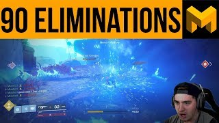 Destiny 2 90 Elimination Challenge! Pc Gameplay