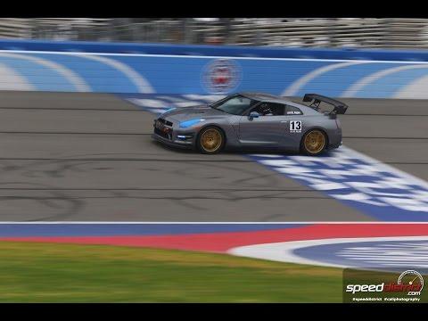 Nissan GTR POV track day. Fontana Autoclub Speedway