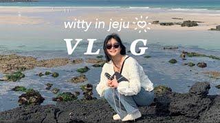 [Vlog] 제주 여행…