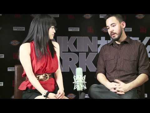 Kelly Cha Talks With Mike Shinoda of Linkin Park - Shanghai Aug 2009