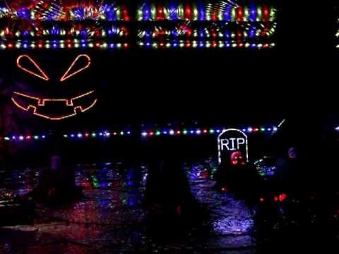 2012 Halloween Light Show