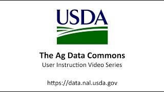 ADC-03 - dataset Erstellen, die auf die Ag Data Commons
