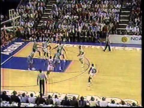 03/22/1990 NCAA Midwest Regional Semifinal:  #8 North Carolina Tar Heels vs.  #4 Arkansas Razorbacks