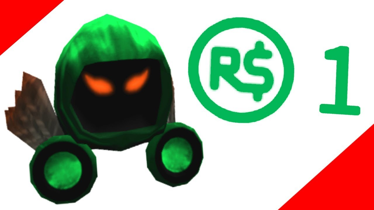 Selling Expensive Roblox Items For 1 Robux Youtube
