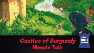 Castles of Burgundy Review - with Meeple Talk
