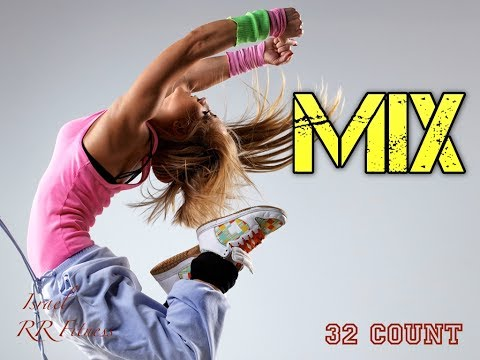 """SPECIAL FINALE MIX"" StepAerobicJumpRunning Music Mix #13 137 bpm 32Count 2017 Israel RR Fitness"