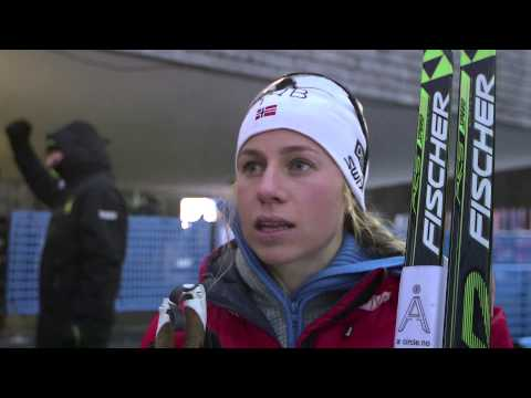 Tiril Eckhoff after Ruhpolding Relay