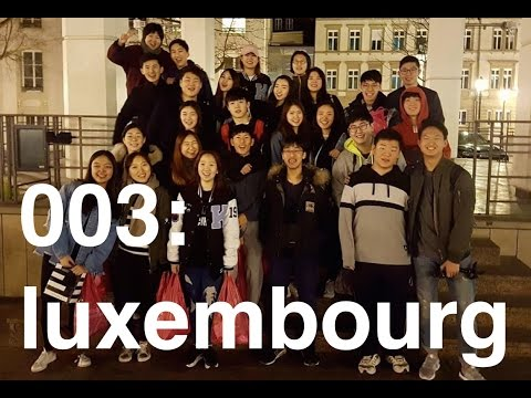 travel vlog 003: luxembourg // AMIS Honor Festival 2017