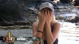 Oriana abandona 'Supervivientes' por un ataque de ansiedad