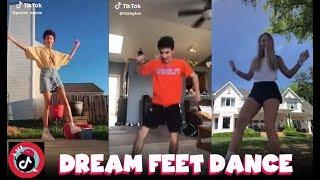 Dream Feet Dance Challenge New Trend TikTok Compilation