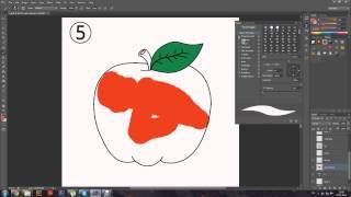 Как ПРАВИЛЬНО нарисовать яблоко (полный курс уроков)