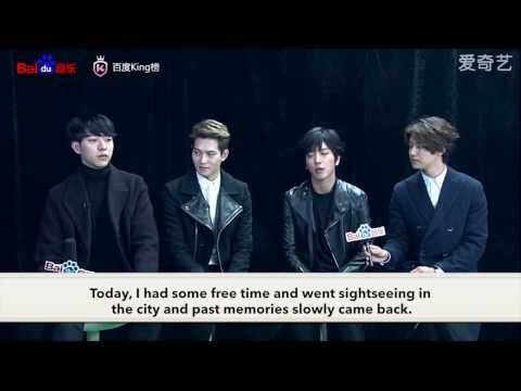 [ENG] 150205 CNBLUE Baidu King Chart Exclusive Interview