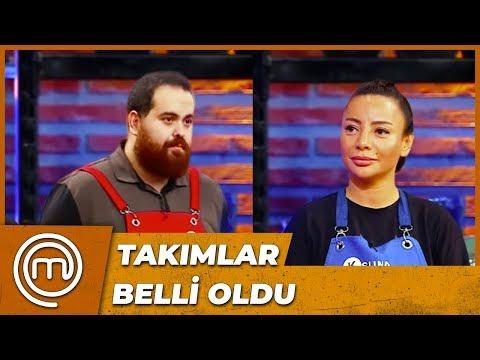 Kırmızı ve Mavi Takımlar Belli Oldu   MasterChef Türkiye 45.Bölüm
