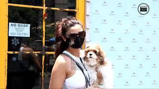 Daisy Shah Snapped At Pet Clinic In Bandra