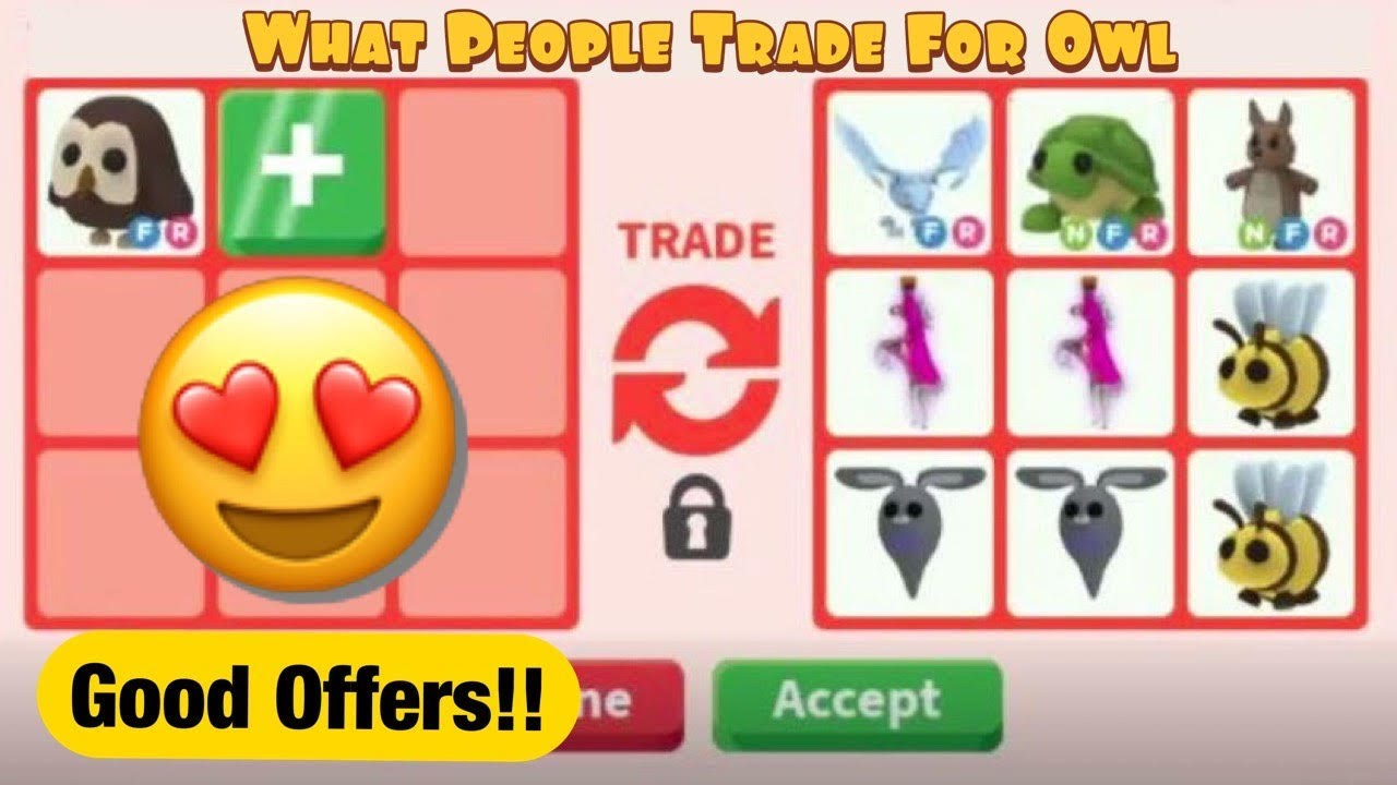 Download What People Trade For Owl ROBLOX Adopt Me!