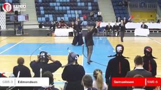 European Kendo Championships 2017 Budapest, Hungary. Men's teams: S...