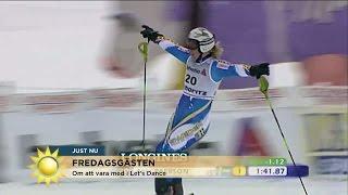 Anja Pärsons tips till bonusdottern i skidbacken - Nyhetsmorgon (TV4)