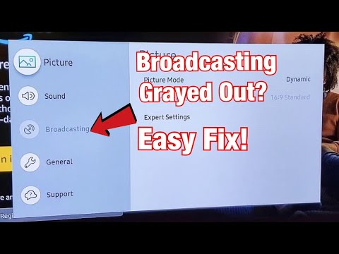Broadcasting Grayed Out On Samsung Smart TV? Easy Fix