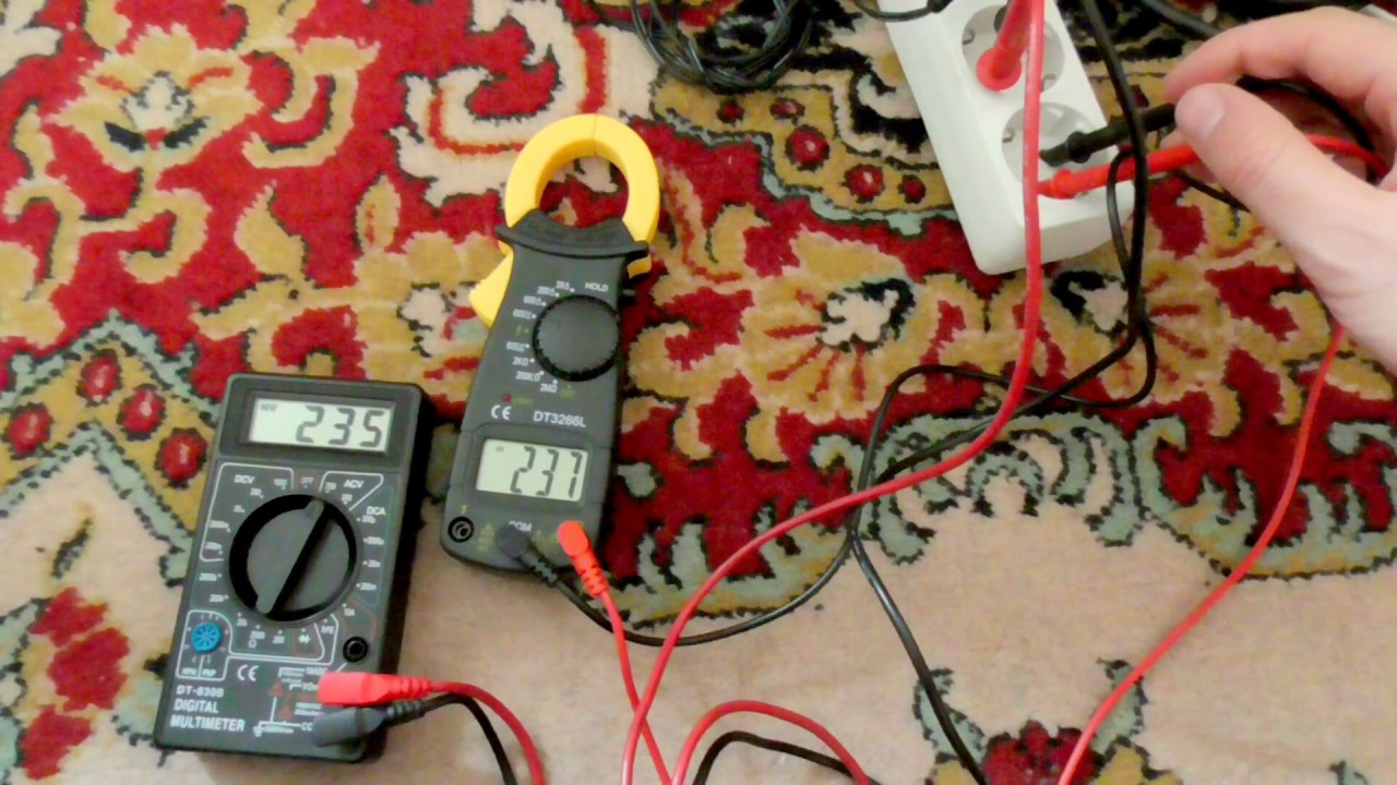 Basic Wall Outlet Voltage measurement (220VAC, Multimeters) - YouTube