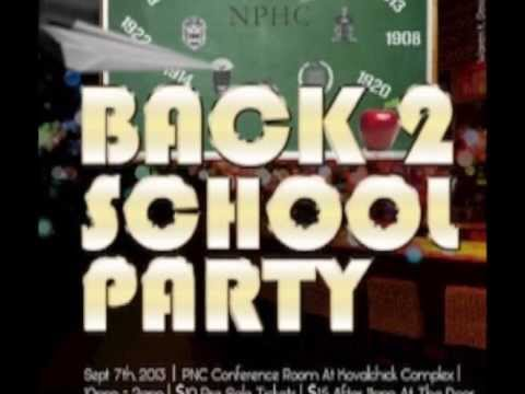 NPHC Back To School Party 2013.. Indiana University of Pennsylvania