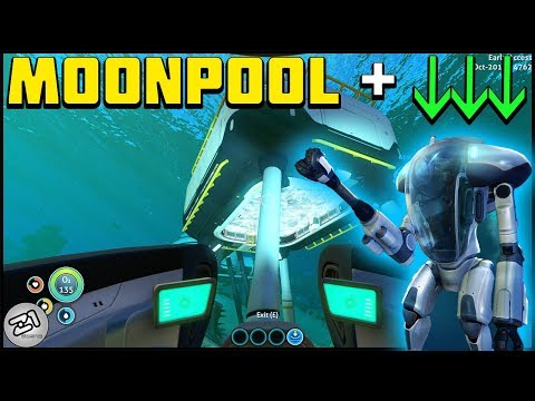 Prawn Suit Fragments and Moonpool ! Lets Play Subnautica Gameplay Z1 Gaming