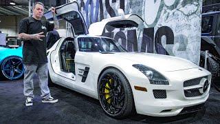 LA Auto Show 2018: Post Malone's Benz, WIDEBODY DEMON, West Coast, and more!