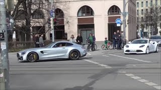 Supercars in Munich #77  812 Superfast, 458 Novitec, Arteger GT