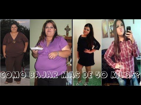 ¿Cómo baje más de 50 kilos? Motivación
