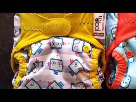 Close New Gen V2 Pop-In Cloth Nappy: New Prints!