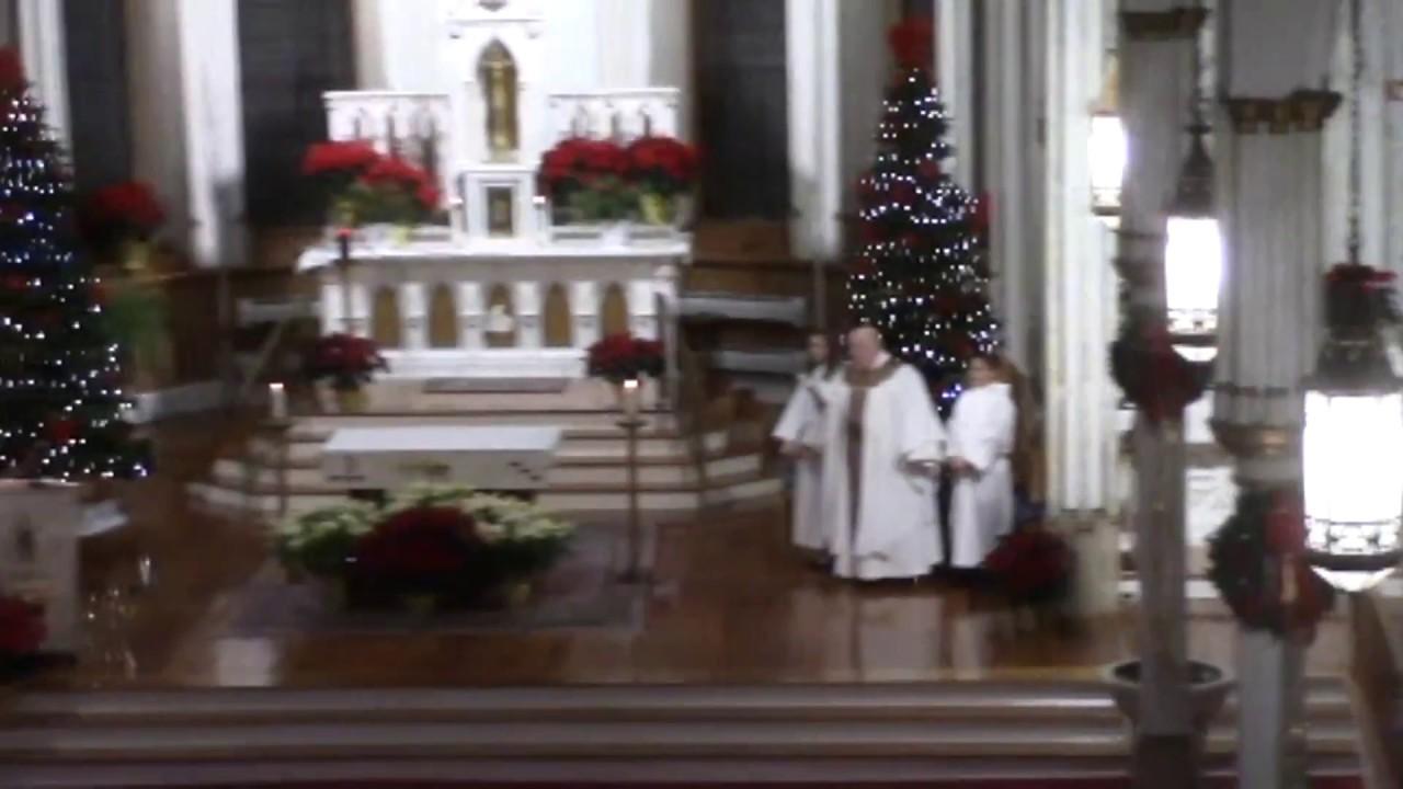 St. Mary's Christmas Eve Mass  12-24-16