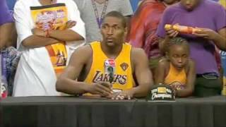 Lakers Ron Artest Post Game-7 Interview 2010 Championship