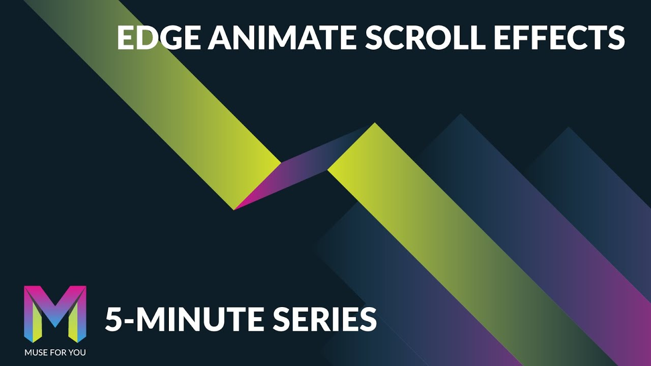 Edge Animate Scroll Effects In Adobe Muse 5 Minute Series Adobe