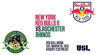 New York Red Bulls II vs. Rochester Rhinos