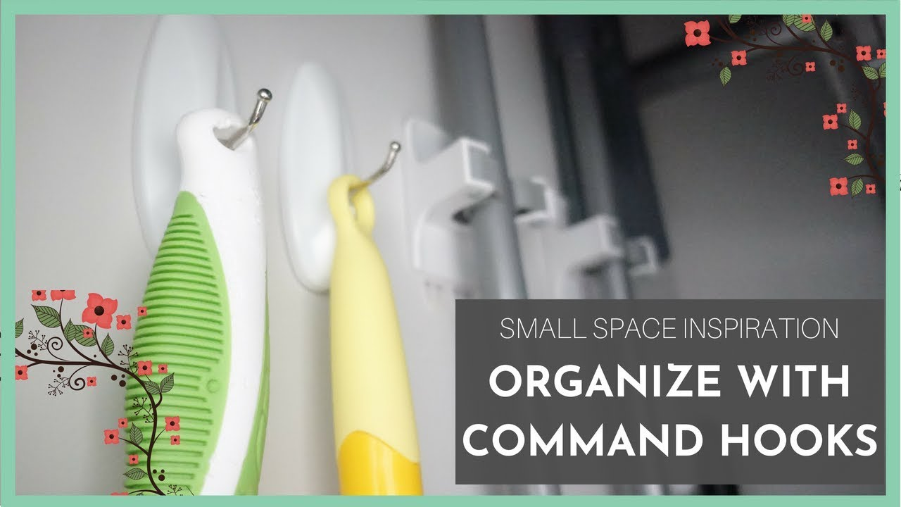 How I Use Command Hooks To Organize My Small Home