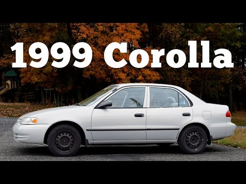 Regular Car Reviews: 1999 Toyota Corolla CE