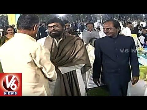 CM KCR Special Interaction With Chandrababu, Pawan Kalyan & Chiranjeevi   V6 News