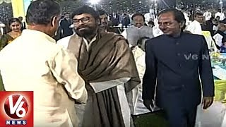 CM KCR Special Interaction With Chandrababu, Pawan Kalyan & Chiranjeevi | V6 News