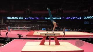 TSUKAHARA Naoya (AUS) - 2015 Artistic Worlds - Qualifications Pommel Horse