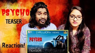 Psycho Teaser Reaction (Tamil)   Udhayanidhi Stalin   SWAB REACTIONS with Stalin & Afreen