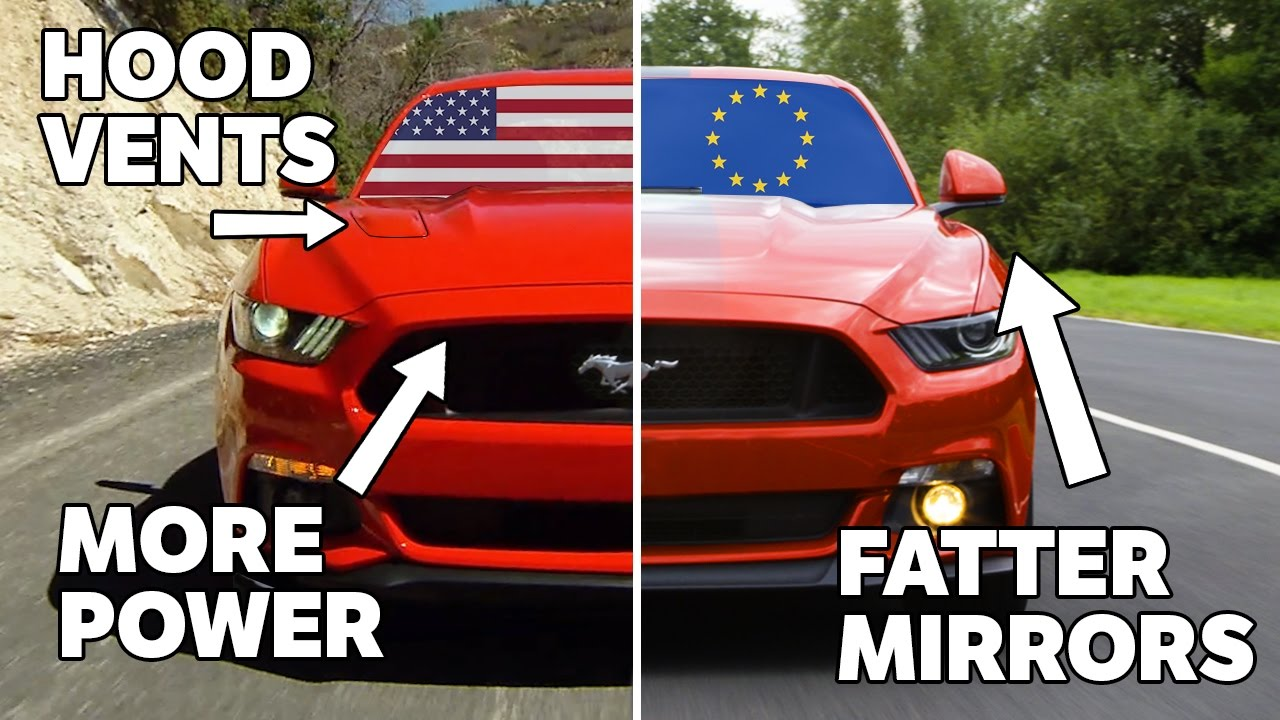10 Differences Between US And European Mustangs - YouTube