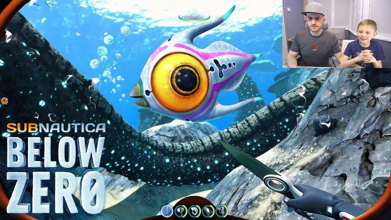 """Даник и игра Subnautica BELOW ZERO """"Ниже Нуля"""" - Продолжение легендарной игры про подводный мир!"""