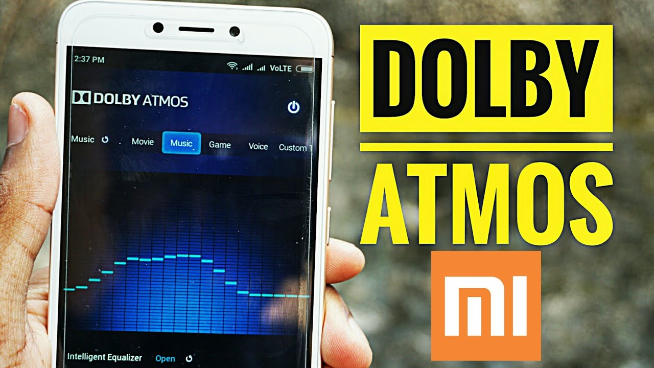 Install Dolby Atmos in Redmi 4/ Redmi Note 4 Nougat - Experience 3D  Surround Sound