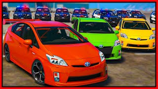 GTA 5 Roleplay - MAKING COPS FURIOUS IN FASTEST PRIUS | RedlineRP