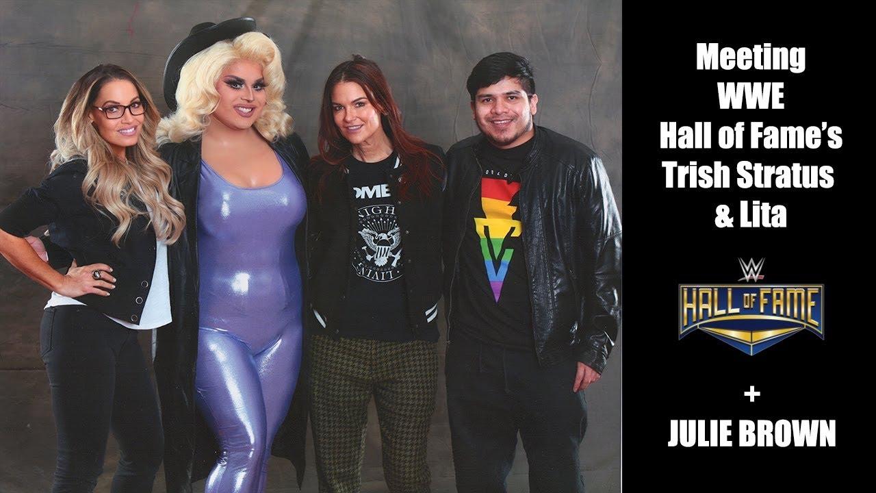 trish stratus and lita Hall of Fame   WWE 2K16: Five Hall